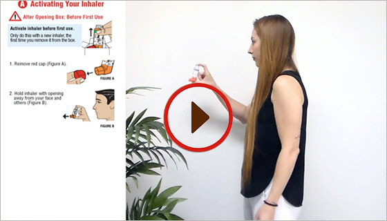 Asthma Inhaler How To Use Video S Primatene Com
